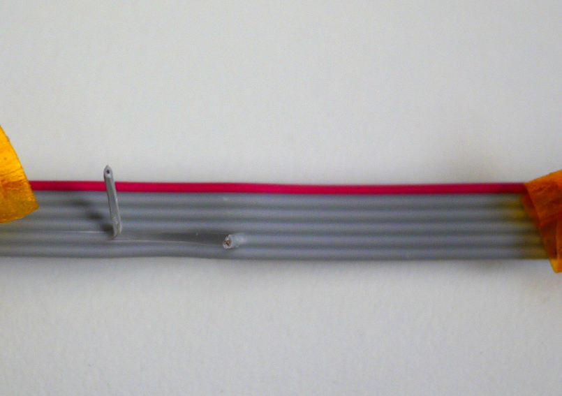 Modified 6-pin IDC cable